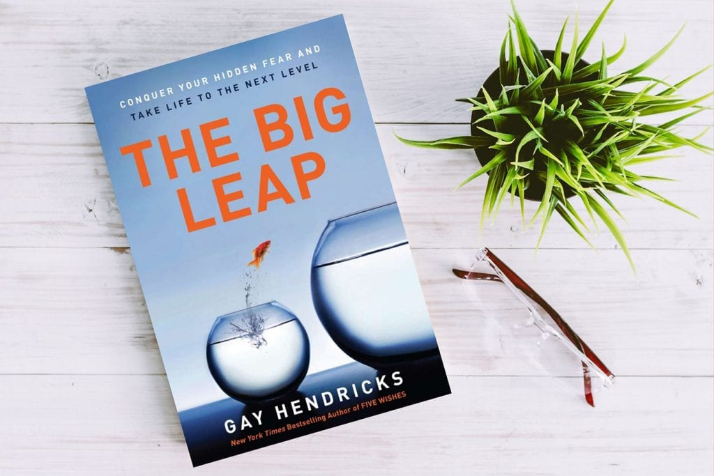 Big Leap Conquer Your Hidden Fear and Take Life to the Next Level Gay Hendricks career job leadership management book
